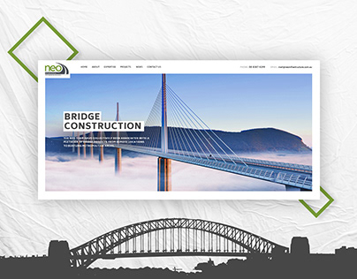 neo infrastructure - Web Design