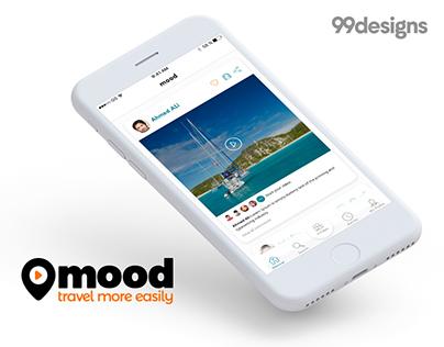 Mood app - 99Designs contest
