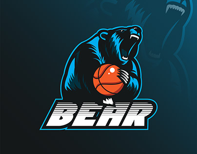 BEAR - Mascot Logo