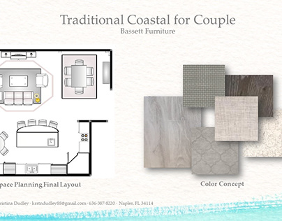 Traditional Coastal Retreat for Couple