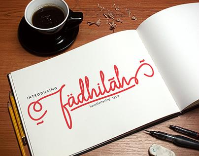 Fadhilah Handlettering Type