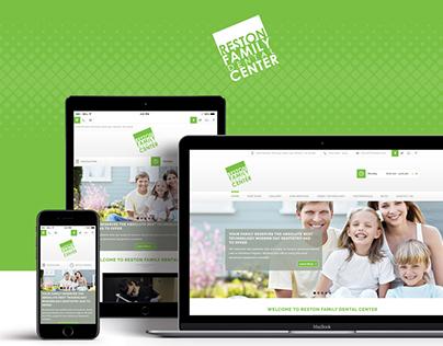 Reston Family Dental Center Website Design