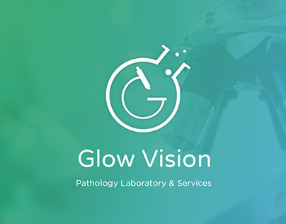 Brand Design for Glow Vision - Pathology Laboratory