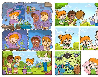 Revista Quadrinhos Institucional