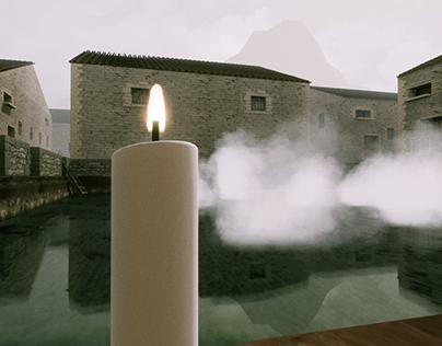 NOSTALGHIA - Thermal Baths 3D Recreation