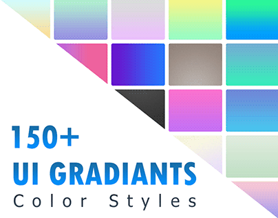 Free 150+ UI Gradients Color Styles
