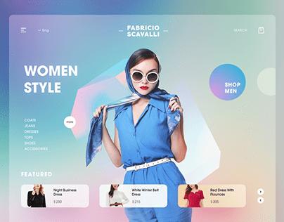 WordPress Website Landing Page Design