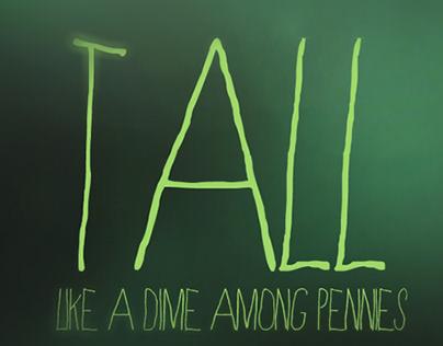 Like a dime among pennies