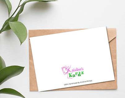 Logo Design For Kristina's Kardz