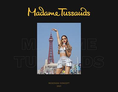 MADAME TUSSAUDS redesign concept