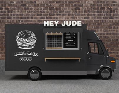 Food truck branding/3d visualization