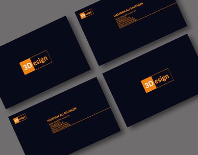 Modern Business Card - 3Design