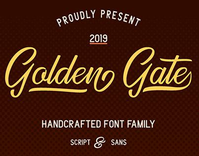 Golden Gate Font Duo