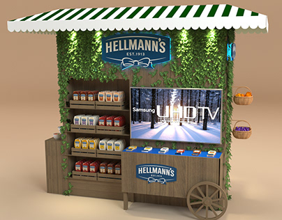 Knorr & hellmann's Display