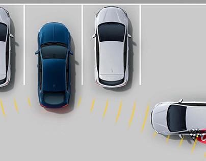 Dock Square Parking Garage. When parallel parking, stop