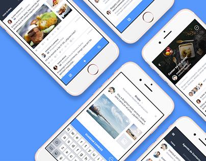 Net&Market - iOS App Design and Dashboard