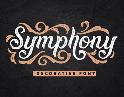 Free Font | Symphony | Decorative Font