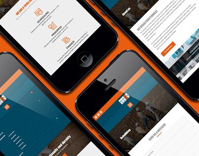 Ertes - webdesign, logo, print and visual identity.