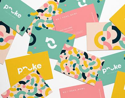 Nu Poke Bowl | branding