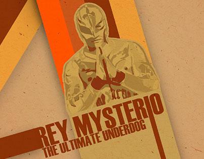 Poster Retro || Rey Mysterio