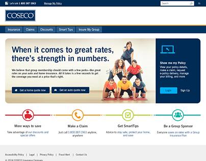 Coseco Website