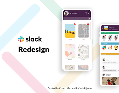 Slack Redesign