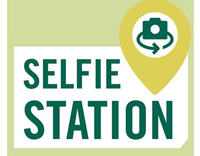 Babson College Centennial Celebration Selfie Stations