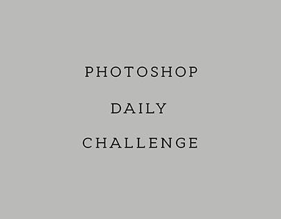 Photoshop daily challenge