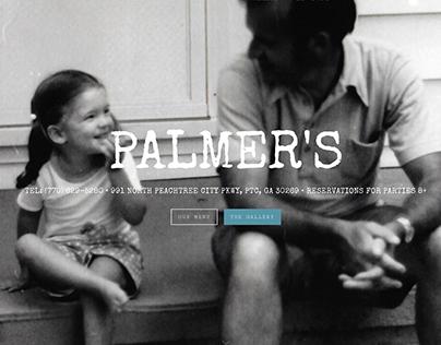 Palmer's Restaurant Website