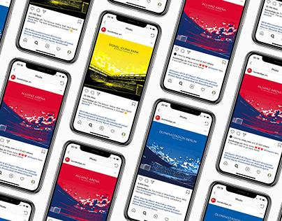 Bundesliga 2017/18 // Social Media Design