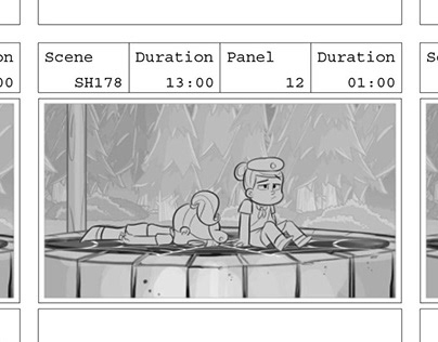 Vampirina Storyboards