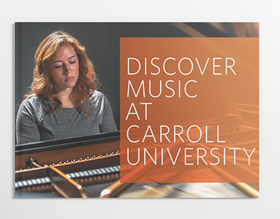Discover Music at Carroll University Brochure
