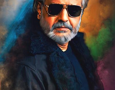 legendary comedian Vivek Digital Painting