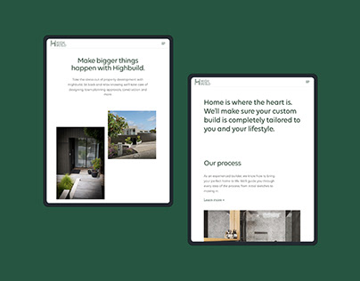 Highbuild Website Design