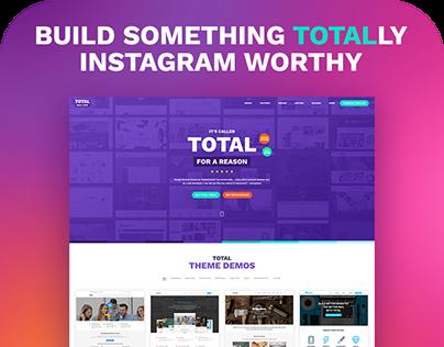Total #1 Drag & Drop WordPress Theme