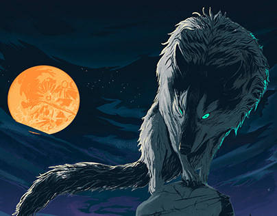 Dark Souls: Sif, the Great Grey Wolf
