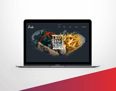 Web page for Lavida Lounge
