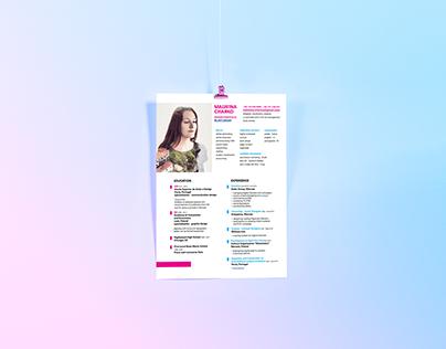 CV + name cards / self_promo.