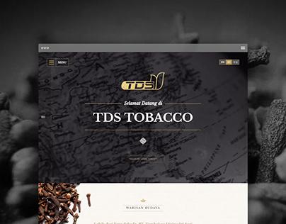 TDS tobacco - Corporate Website