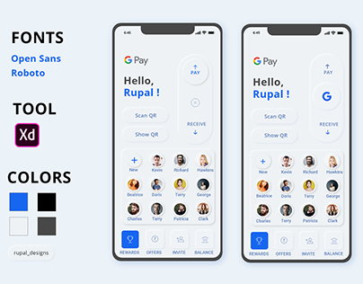 Google Pay Redesign