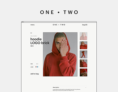 One Two e-commerce