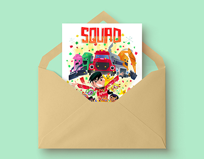 """""""Sprout"""" + """"Universal Kids"""" Holiday Cards"""