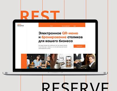 UX/UI Design Rest Reserve