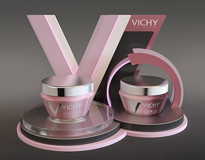 Vichy Idelia Display Stand