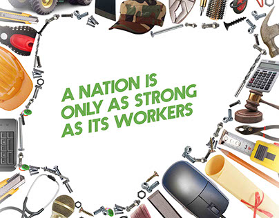 Glo's Workers' Day Ad