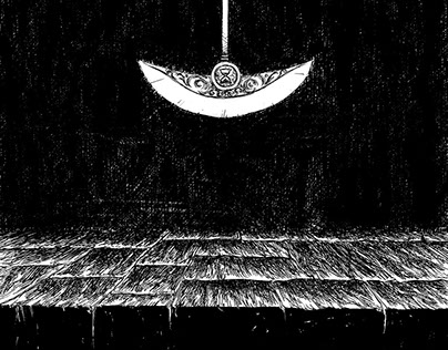 The Pit And The Pendulum Illustration