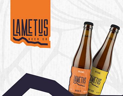 Lametus Beer Co - Branding Project