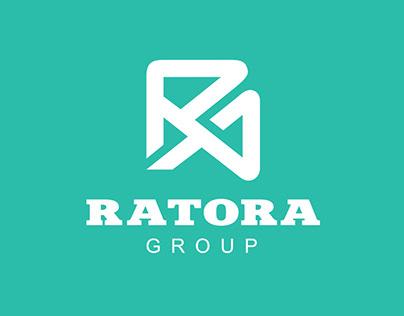 Дизайн логотипа компании «РАТОРА Групп»