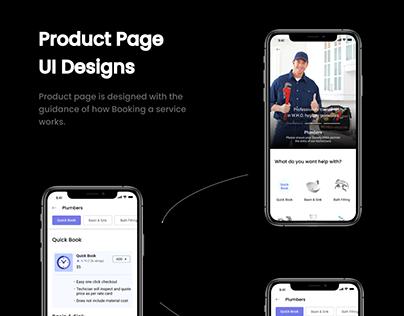 Home Service Mobile App UI/UX Kit