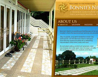 Website Design - Bonnie's Nest
